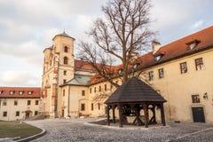 Benediktinerkloster - Tyniec, Polen. Stockfotos