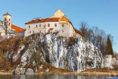 Benediktinerkloster in Tyniec, Polen Stockbild