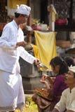 Benedizione del sacerdote Fotografia Stock Libera da Diritti