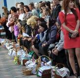 Benedizione di Pasqua baskets_4 Immagini Stock
