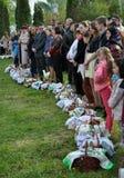 Benedizione di Pasqua baskets_6 Fotografie Stock