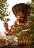 Benedizione Lord Ganesha Immagini Stock
