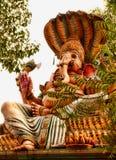 Benedizione Lord Ganesha Fotografie Stock