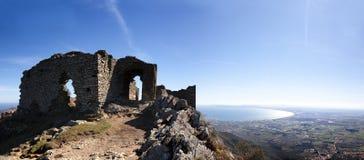 Benedyktyński monaster Sant Pere De Rodes Girona fotografia royalty free