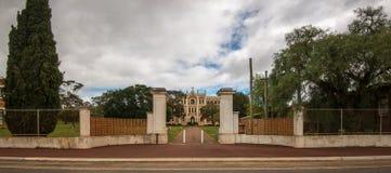 Benedyktyński monaster w zachodniej australii fotografia royalty free