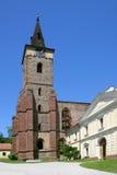 Benedyktyński opactwo Sazava przyklasztorny, republika czech Obrazy Royalty Free