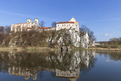 Benedyktyński opactwo w Tyniec blisko Krakow, Polska Fotografia Royalty Free