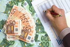 Benefício da contabilidade Fotos de Stock Royalty Free