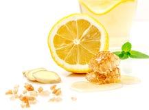 Benefícios de saúde provados de Ginger Can Treat Many Forms da náusea, especialmente doença de manhã? Ginger Contains que uma sub Fotos de Stock Royalty Free