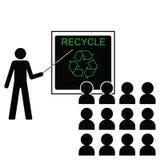 Benefícios do recicl ilustração do vetor