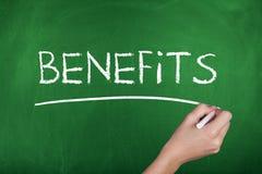 benefícios Foto de Stock Royalty Free