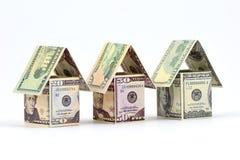 Benefici di investimento di bene immobile Fotografia Stock