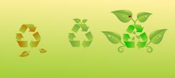 Benefici di riciclaggio Immagini Stock