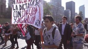 Beneficio de la educación de la protesta de los estudiantes