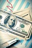 Beneficios financieros fotos de archivo libres de regalías