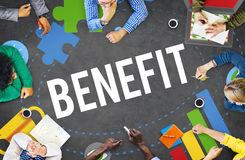 Benefit Advantage Compensation Reward Bonus Concept Stock Photos