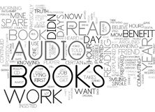 Benefit From Books Each Year Word Cloud Stock Image