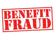 BENEFIT FRAUD Royalty Free Stock Photography