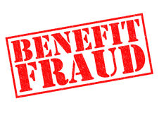 BENEFIT FRAUD Royalty Free Stock Images