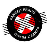 Benefit Fraud rubber stamp Stock Photos