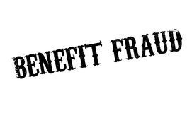 Benefit Fraud rubber stamp Stock Image
