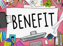Benefit Income Incentive Profit Bonus Concept Stock Image