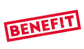 Benefit rubber stamp Royalty Free Stock Photography