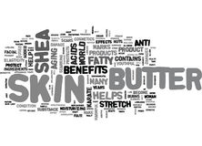 Free Benefits And Effectiveness Of Shea Butterword Cloud Royalty Free Stock Photos - 96640688