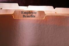 benefits anställd Royaltyfri Foto