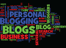 The Benefits Of The Blog Types Text Background Word Cloud Concept Royalty Free Stock Photo