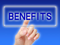 Benefits concept Stock Photos