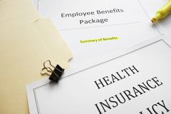 Benefits docs Stock Photo