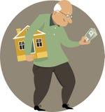Benefits of downsizing Stock Photo