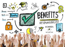 Free Benefits Gain Profit Earning Income Hands Volunteer Concept Stock Photos - 51218243