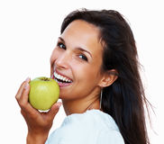 Benefits of good nutrition Stock Images