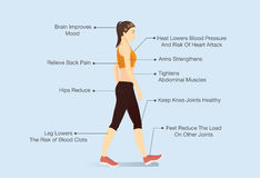 Free Benefits Of Walking Royalty Free Stock Photo - 76939815