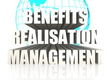 Benefits Realisation Management Royalty Free Stock Photography