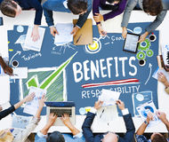 Benefits Responsibility Rewards Goal Skill Satisfaction Concept Royalty Free Stock Images