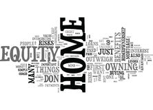 Benefits To Homeownership Outweigh Mortgage Risks Word Cloud. BENEFITS TO HOMEOWNERSHIP OUTWEIGH MORTGAGE RISKS TEXT WORD CLOUD CONCEPT Royalty Free Stock Photos