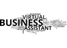 Benefits Of Virtual Assistance Word Cloud Royalty Free Stock Photos