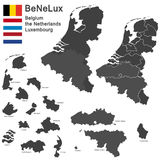 BeNeLux countries Stock Image