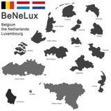 BeNeLux countries Stock Photos