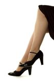 Benen en schoenen Royalty-vrije Stock Foto's