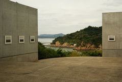 Benesse house gallery, Naoshima, Japan Royalty Free Stock Images