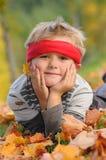 Benessere di autunno Fotografia Stock Libera da Diritti
