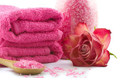 Benessere rosa Fotografie Stock Libere da Diritti