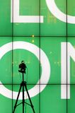 Benetton Art und Weisebildschirmanzeige Lizenzfreies Stockbild