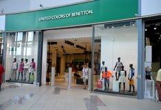 Benetton lager i Bratislava royaltyfri bild