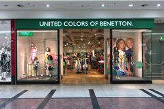 Benetton modelager arkivfoto