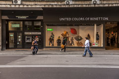 Benetton store in bologna Stock Photography